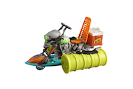 TMNT OOZE SEWER CRUISER til Ninja Turtles