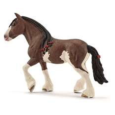 CLYDESDALE hoppe - Schleich hest 13809