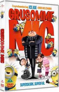 GRUSOMME MIG - DVD-film med MINIONS