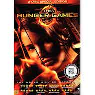 THE HUNGER GAMES 1 som DVD-film