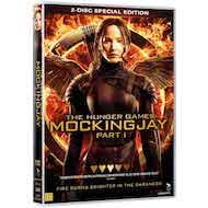 THE HUNGER GAMES 3 - MOCKING JAY part 1 som DVD-film