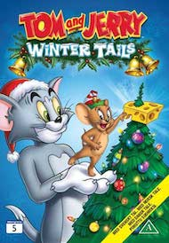 TOM og JERRY - VINTEREVENTYR som DVD